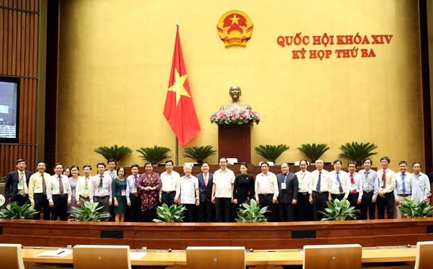 Quốc hội đã biểu quyết thông qua Luật thủy lợi
